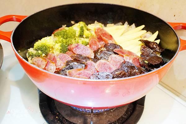 銷魂廣式肝臘腸飯 (7)
