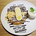 四葉牛奶聖代-四葉北海道乳酪塔-香蕉巧克力鬆餅  (1)