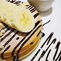 四葉牛奶聖代-四葉北海道乳酪塔-香蕉巧克力鬆餅  (3)