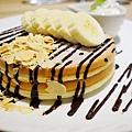 四葉牛奶聖代-四葉北海道乳酪塔-香蕉巧克力鬆餅  (7)
