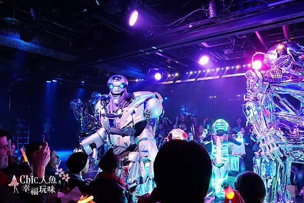 機器人餐廳ROBOT Restaurant 新宿 (109)