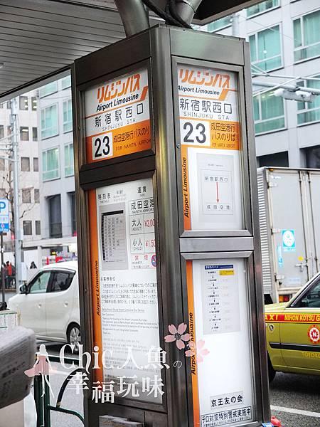 成田空港新宿搭乘口23號 (4)