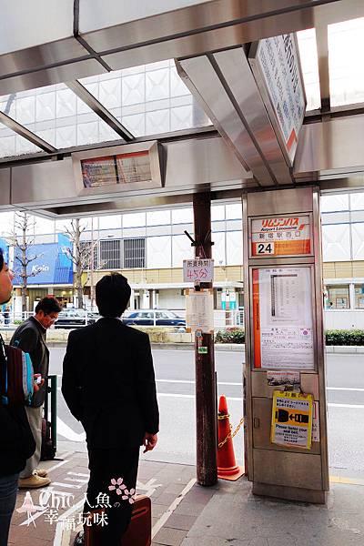 羽田空港利木津巴士2014新宿24號 (5)