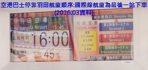 羽田空港利木津巴士2014新宿24號 (6)