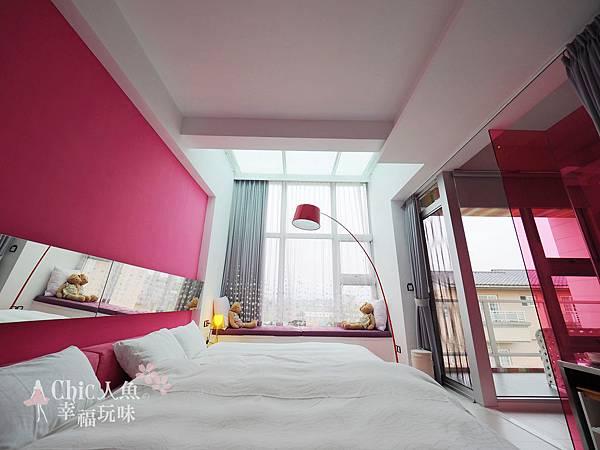 調色盤築夢會館-Pink 4人房 (42)