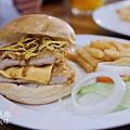 胖東西廚房-特製豬排漢堡 (1)