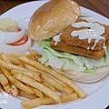 胖東西廚房-塔塔檸檬鮮魚漢堡 (2)