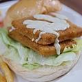 胖東西廚房-塔塔檸檬鮮魚漢堡 (3)