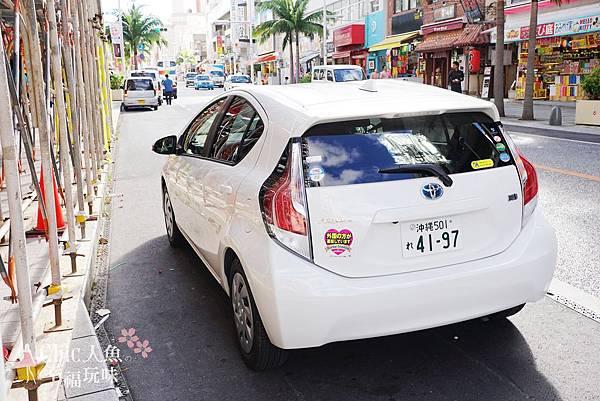 沖繩自駕遊租車TOYOTA (9)