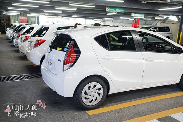 沖繩自駕遊租車TOYOTA (30)