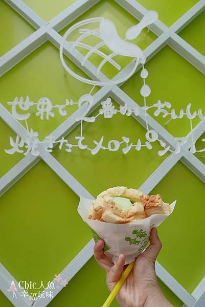世界第二好吃現烤菠蘿麵包夾冰淇淋 (39)
