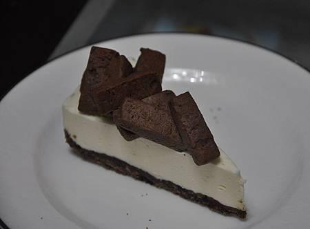 黑岩蛋糕切片