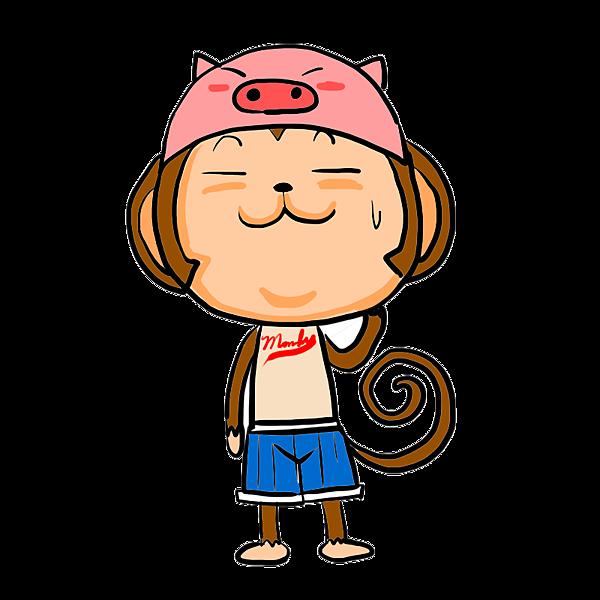 謎猴--戴豬頭.png