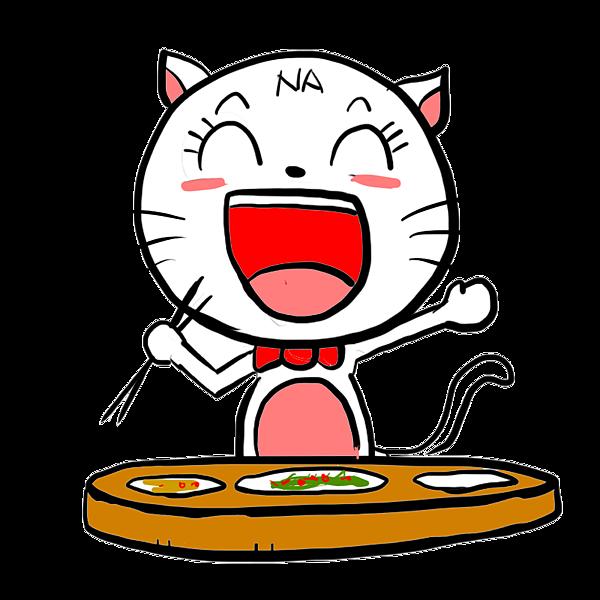 NANA貓--開飯囉