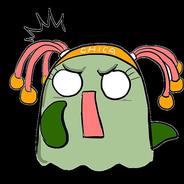 奇卡--驚嚇