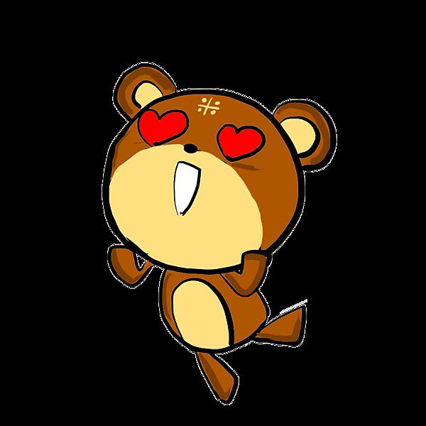踢米熊--眼睛冒愛心.png