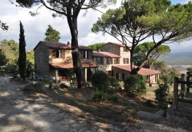義大利托斯卡納的鄉村美景