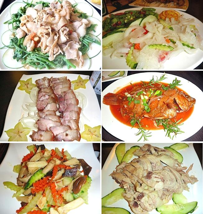 台東旅遊-台東美食天龍飯店合菜豐盛