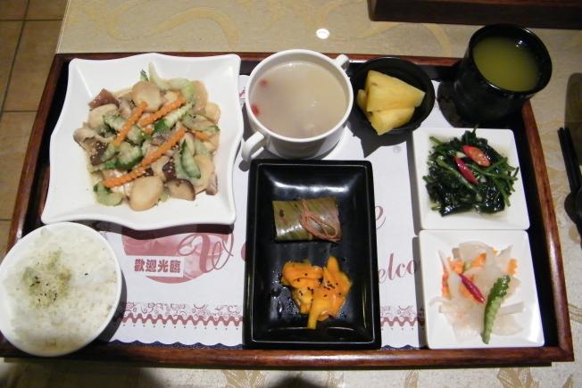 台東美食-養生五行時蔬鮮(可素食)