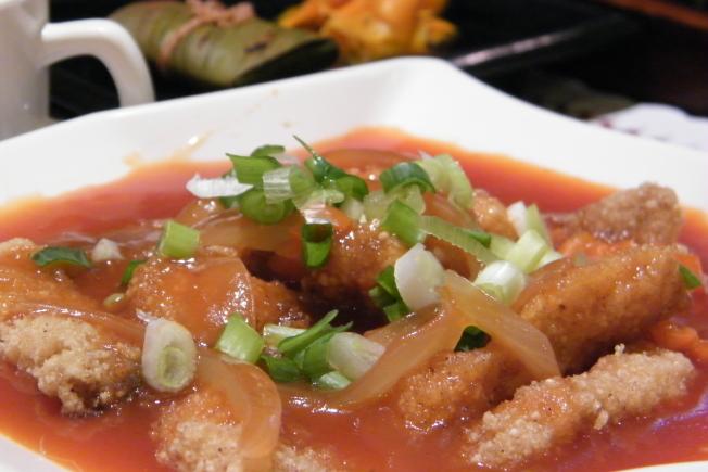 台東美食主餐-天龍溫泉鯛近照