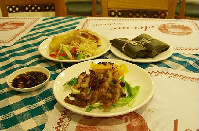 台東旅遊-台東美食天龍飯店合菜2