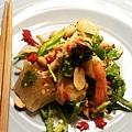 白柚雞肉鮮蝦沙拉