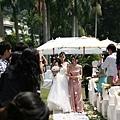 美麗新娘入場