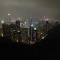 傳說中的香港夜景