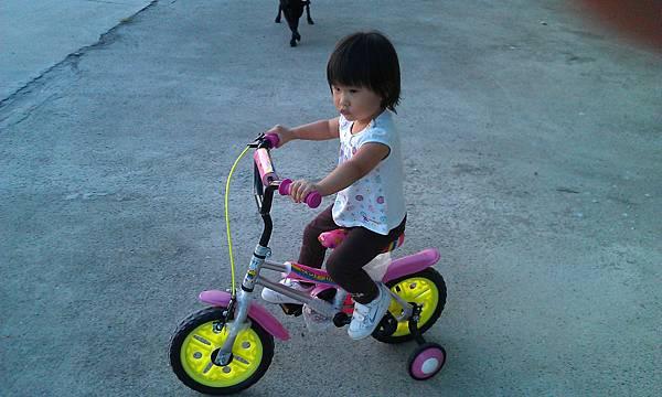 柚子的大腳踏車好好玩