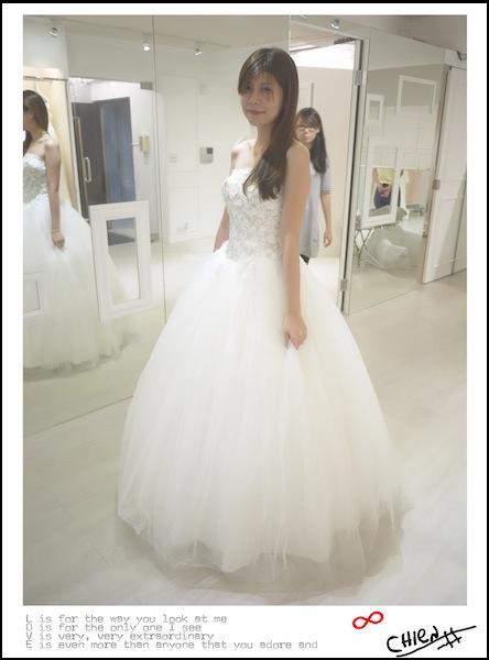 white 手工婚紗