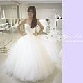 white 手工婚紗2