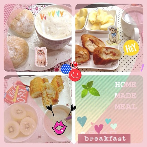 cc 愛心早餐