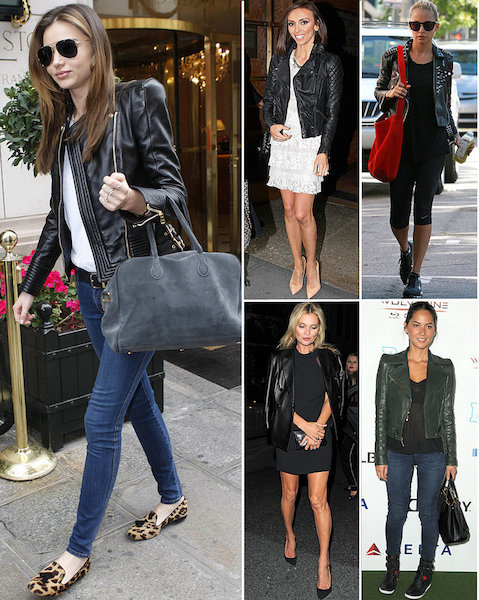 Celebrities-Wearing-Leather-Jackets
