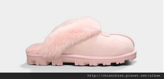ugg home slippers babypink