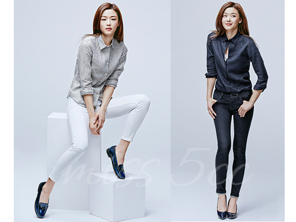 chic column - uniqlo