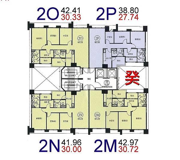 v22-環球市格局圖-2M.N.O.P棟