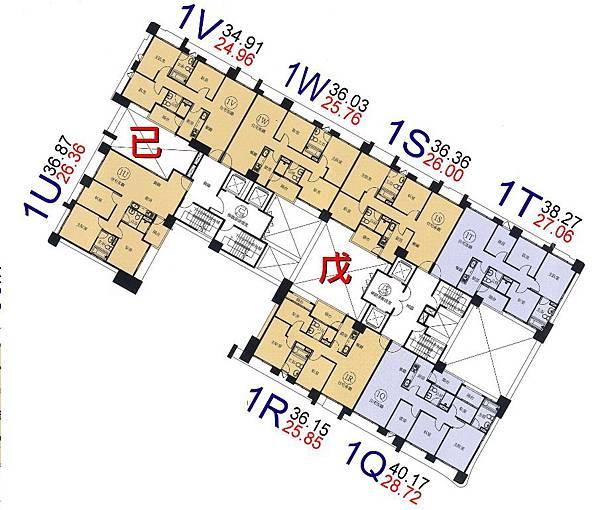 r18-環球市格局圖-1Q.R.S.T.U.V.W棟