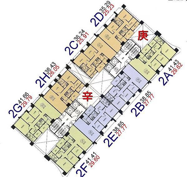 s19-環球市格局圖-2A.B.C.D.E.F.G.H棟