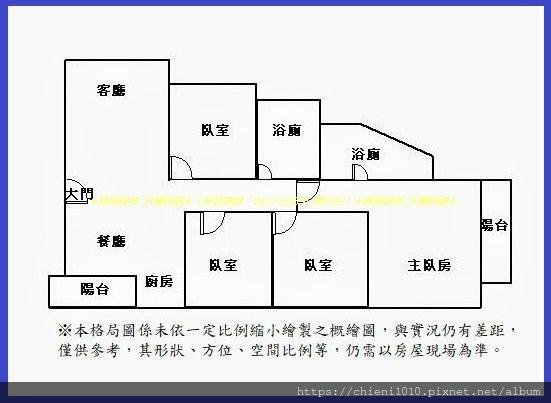 p16格局圖 煙波行館D2朝南邊間大四房+車位(503號6樓).jpg