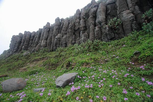 桶盤柱狀玄武岩