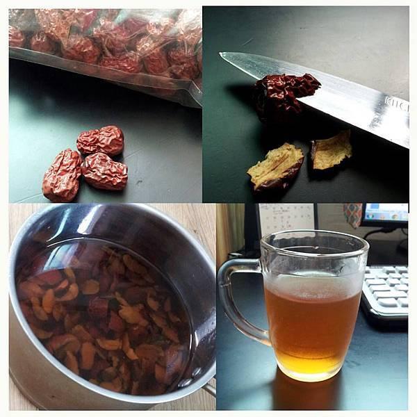 dried jujube tea