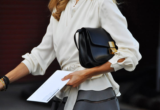 Celine-Classic-Box-Bag-at-Fashion-Week