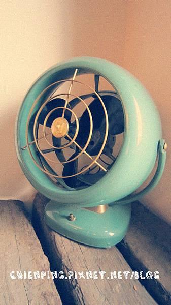 好可愛的復古電風扇