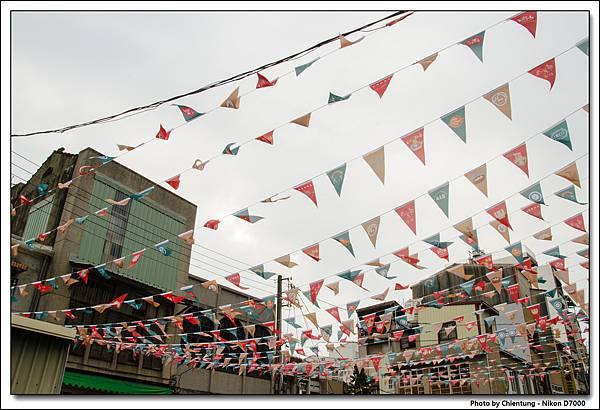 正興街商店萬國旗