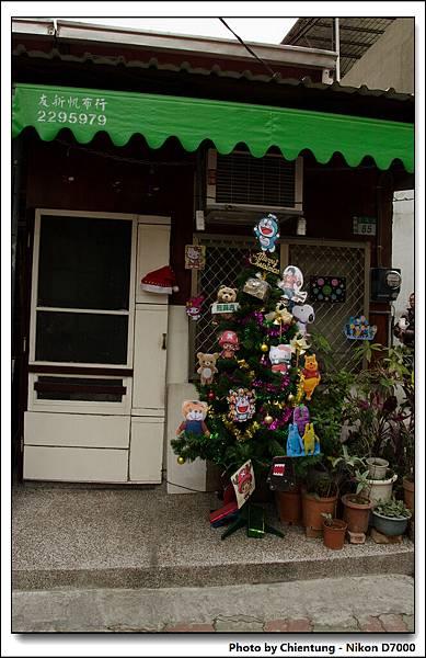 住家的聖誕樹造型