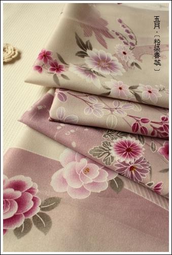 10004和風系 黑川社四段式和綢縐布 牡丹與櫻花 01.jpg