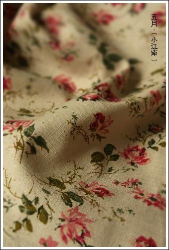 10004花柄系 外貿棉麻 斑駁懷舊感山茶茶01.jpg