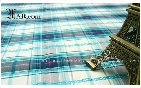 #1003001色織花紋藍格子棉布 001.jpg