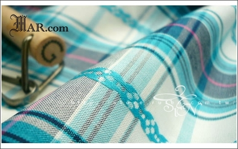#1003001色織花紋藍格子棉布 002.jpg