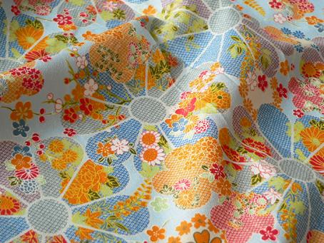 9910和風 日本和綢縐棉 華彩輪菊綴櫻004.jpg